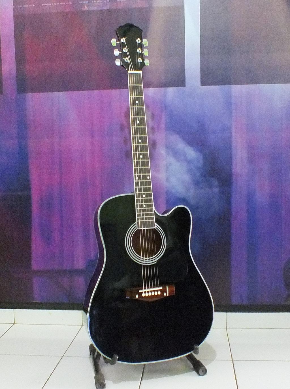 Akustik Black1 Black2 Black5 Gitar Murah Berkualitas Custom